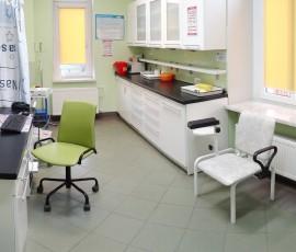 Gabinet zabiegowy i laboratorium